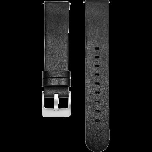 Noerden Leather Smart Watch Band Black (1)